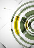 Futuristic rings background — 图库矢量图片