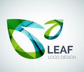 Leaf logo — Stockvektor