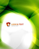 Unusual blur wave abstract background — Stock Vector
