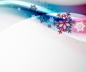 Christmas blur wave — Stock Vector
