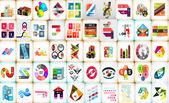 Infographic layouts mega collection — Stock Vector
