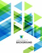 Triangle geometric abstract background — Vector de stock