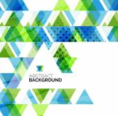 Triangle geometric abstract background — Vecteur