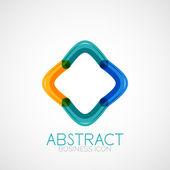 Symmetriska abstrakt geometrisk form — Stockvektor