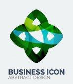 Abstract business logo — Stock Vector