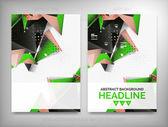 Flyer, Brochure Design Templates, Layouts — Stock Vector