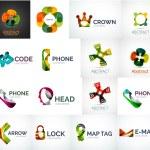 Abstract company logo collection — Stock Vector #56412631