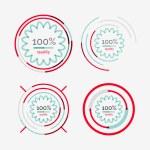 Thin line neat design logo set, premium quality — Stock Vector #56612751