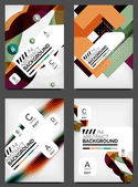 Set of Flyer Templates, Business Web Layouts — Stockvector