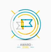 Award icon, logo — Stock Vector