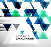 Business Abstract Geometric Template — Stok Vektör