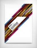 Flyer, Brochure Design Template, Layout — Stock Vector