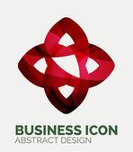 Logo aziendale astratto — Vettoriale Stock