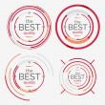 Thin line neat design logo set, premium quality — Stock Vector #61256365
