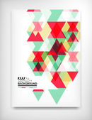 Geometric abstract business template — Stockvector