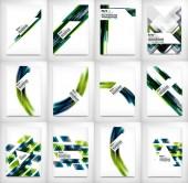 Diseño de Flyer, folleto plantilla de diseño — Vector de stock