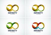 Infinity company logo icon — Wektor stockowy