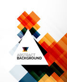 Square shape abstract layouts, business template — Stok Vektör