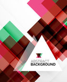 Square shape abstract layouts, business template — Stockvector