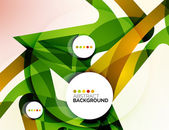 Colorful fresh modern abstract background — Stock Vector