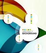 красочный новый современный абстрактный фон — Cтоковый вектор