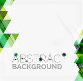 Abstract geometric background. Modern overlapping triangles — Wektor stockowy