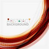 Red and blue color swirl concept — Vetor de Stock