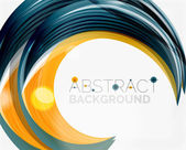 Vector swirl line abstract background — Vecteur