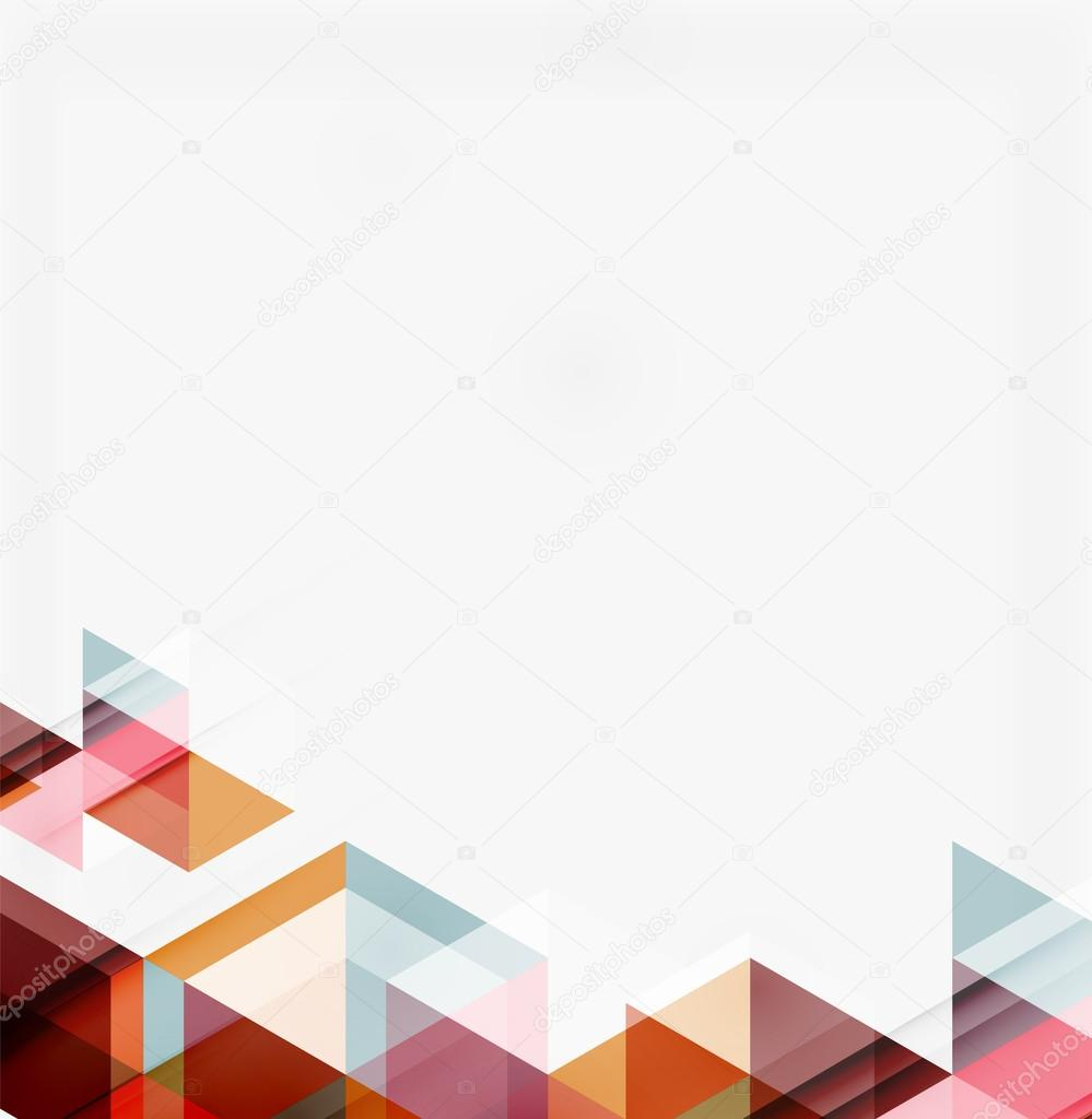 Abstract geometric background. Modern overlapping ...