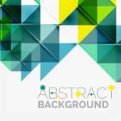 Abstrato geométrico. triângulos sobrepostos modernos — Vetor de Stock
