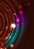 Futuristic circle background — Stock Vector