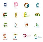 组的通用公司标识的想法, — 图库矢量图片
