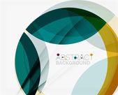 Zelené a žluté barvy elegantní abstrakce. — Stock vektor