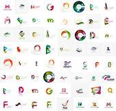 Company logo mega collection, — Stock Vector