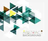 Abstrait géométrique. — Vecteur