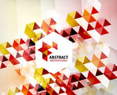 Geometric abstract polygonal background — Stock Vector