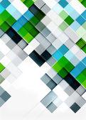 方形形状马赛克图案设计。普遍的现代作曲 — 图库矢量图片