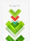 Geometriska mönster design — Stockvektor