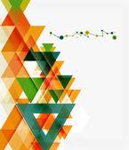 きれいなカラフルな珍しい幾何学模様 — ストックベクタ