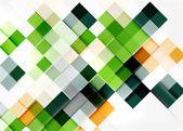 Kvadratisk form mosaik mönster design. — Stockvektor