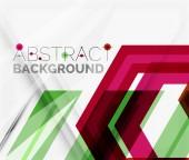 Abstrato geométrico. projeto de seta — Vetor de Stock