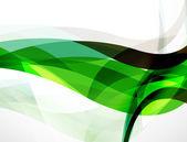 Wave background, geometric color — Stock vektor