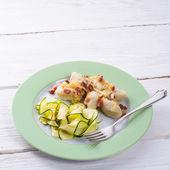Silesian dumplings with  zucchini — ストック写真