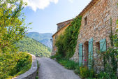 Village in provence — Stock Photo