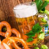 Bavarian beer — Stock Photo