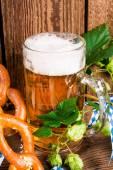 Баварское пиво — Стоковое фото