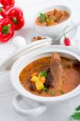 Oxtail soup — Stock Photo