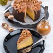 Pumpkin cheesecake — Stock Photo #55978967
