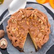 Pumpkin cheesecake — Stock Photo #55978983