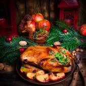 Christmas duck — Stock Photo